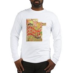 Flat Minnesota Long Sleeve T-Shirt