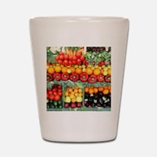 fruits and veggies Shot Glass