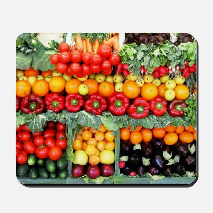 fruits and veggies Mousepad