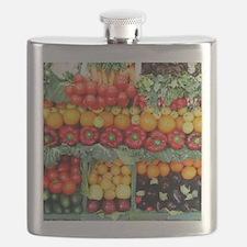 fruits and veggies Flask