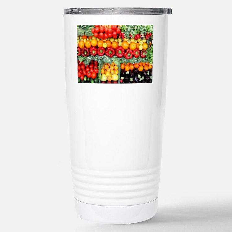 fruits and veggies Travel Mug