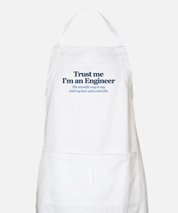 Trust Me I'm An Engineer Light Apron