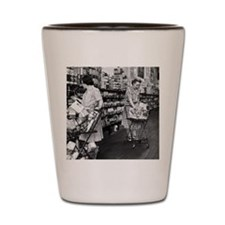 1930s grocery store Shot Glass