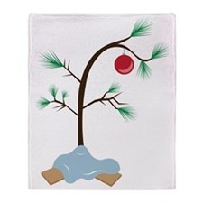 Small Tree Throw Blanket
