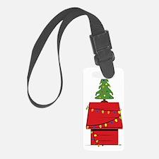Holiday Dog House Luggage Tag