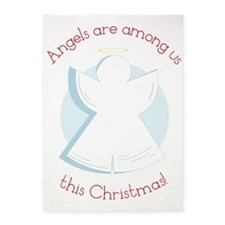 Angels Are Among Us 5'x7'Area Rug