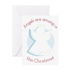Angels Are Among Us Greeting Card