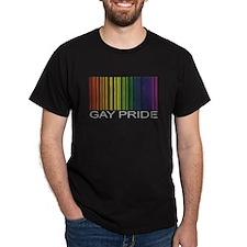 Barcode Gay Pride T-Shirt
