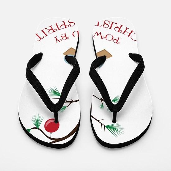 Christmas Spirit Flip Flops