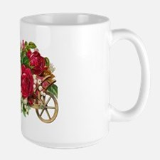 Flower Basket C Large Mug
