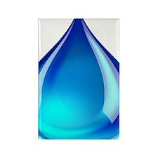 waterdrop Rectangle Magnet