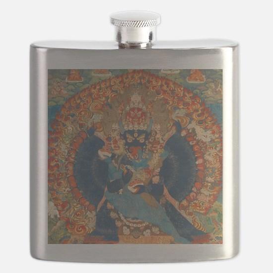 Vajrabhairava Thangka Flask