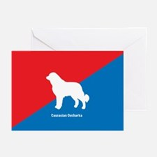 Caucasian Greeting Cards (Pk of 10)