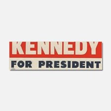 kennedy for president bumper sti Car Magnet 10 x 3