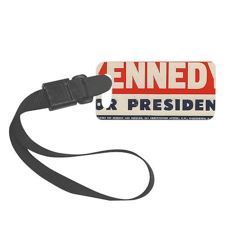 kennedy for president bumper sti Small Luggage Tag
