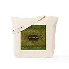 Blessed Be Vintage (Green) Tote Bag
