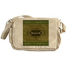 Blessed Be Vintage (Green) Messenger Bag