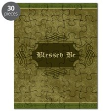 Blessed Be Vintage (Green) Puzzle