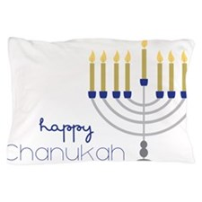 Happy Chanukah Pillow Case