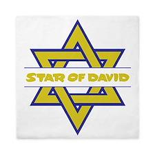 Star of David Queen Duvet
