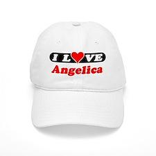 I Love Angelica Baseball Cap