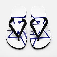 Star of David Flip Flops