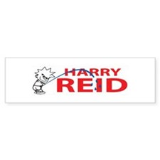 Piss On Harry Reid Bumper Bumper Sticker