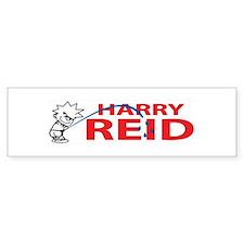 Piss On Harry Reid Bumper Bumper Sticker