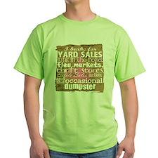 junker shirt brownwithppinkandwhite  T-Shirt
