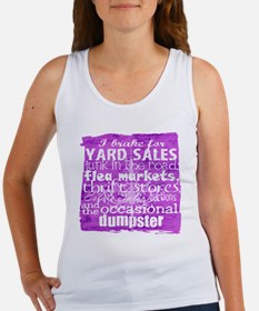 junker shirt purples Women's Tank Top