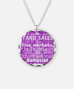 junker shirt purples Necklace