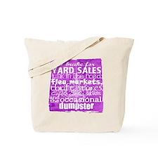 junker shirt purples Tote Bag