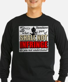 Shall Not Infringe! Long Sleeve T-Shirt