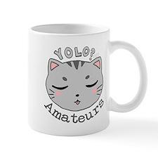YOLO Cat Mugs