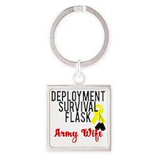 deployment Square Keychain