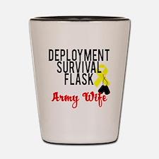 deployment Shot Glass