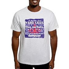 junker shirt blueredwhite T-Shirt
