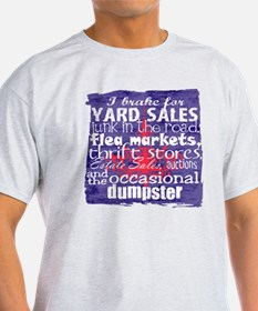 junker shirt blueredwhite T-Shirt