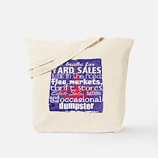 junker shirt blueredwhite Tote Bag