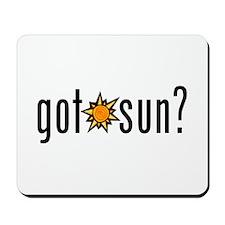 got sun? Mousepad