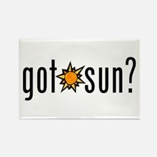 got sun? Rectangle Magnet