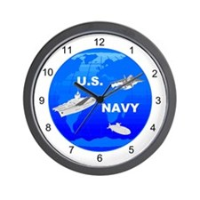 US Navy Wall Clock