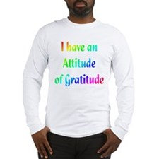 Gratitude Long Sleeve T-Shirt