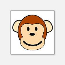 "funky monkey Square Sticker 3"" x 3"""