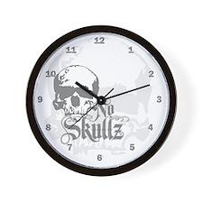 ns_h_wooden  Wall Clock