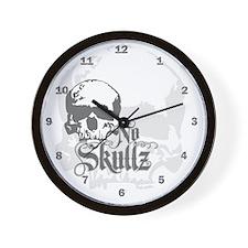 ns_wooden  Wall Clock