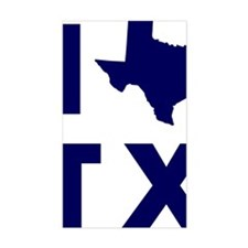 I Love Texas Decal