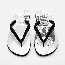 No skulls Flip Flops