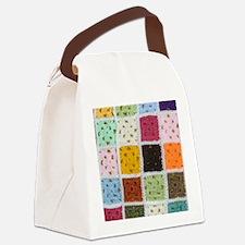 Granny Square Canvas Lunch Bag