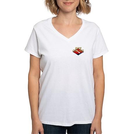 Dive Cozumel (PK) Women's V-Neck T-Shirt